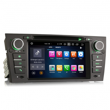 Navigatie auto, Pachet dedicat BMW M3 E90 E92 E93 ,7 inch, Android 10, Octa Cores [5]