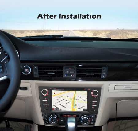 Navigatie auto, Pachet dedicat BMW M3 E90 E92 E93 ,7 inch, Android 10, Octa Cores [10]