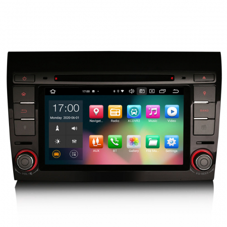 Navigatie auto, Pachet dedicat  FIAT BRAVO 2007, Android 10, 7 inch Octa Core0