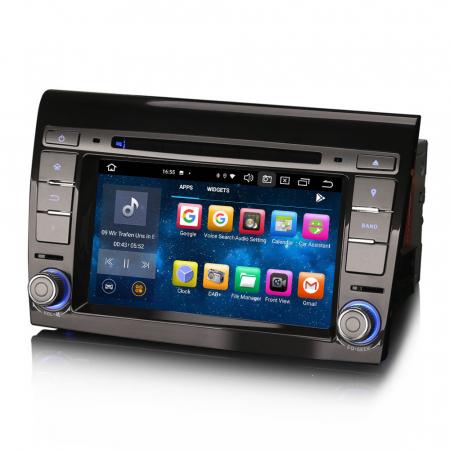 Navigatie auto, Pachet dedicat  FIAT BRAVO 2007, Android 10, 7 inch Octa Core4