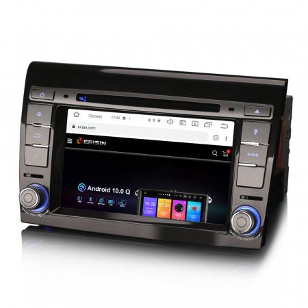 Navigatie auto, Pachet dedicat  FIAT BRAVO 2007, Android 10, 7 inch Octa Core2