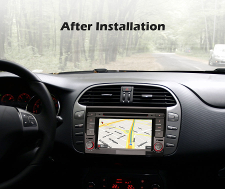 Navigatie auto, Pachet dedicat  FIAT BRAVO 2007, Android 10, 7 inch Octa Core8