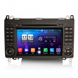 Navigatie auto, Pachet dedicat Mercedes Benz B200 Viano Vito Android 10.0, 7 inch,8-Core CPU0