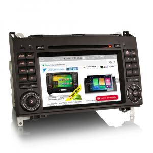 Navigatie auto, Pachet dedicat Mercedes Benz B200 Viano Vito Android 10.0, 7 inch,8-Core CPU3