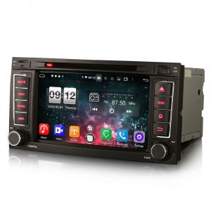Navigatie auto 2 din, Pachet dedicat VW TOUAREG T5, Android 10, 7 Inch, Octa Core8