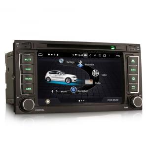 Navigatie auto 2 din, Pachet dedicat VW TOUAREG T5, Android 10, 7 Inch, Octa Core4