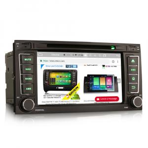 Navigatie auto 2 din, Pachet dedicat VW TOUAREG T5, Android 10, 7 Inch, Octa Core7