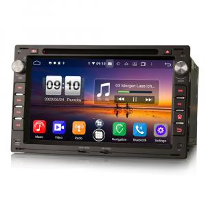 Navigatie auto 2 din, Pachet dedicat VW Golf Passat Polo Lupo Seat Peugeot 307, Android 10, 7 inch, Octa Core [5]