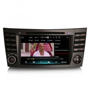 Navigatie auto, Pachet dedicat Mercedes BENZ E/CLS/G Klasse W211 W219, Android 10.0, 7 inch, Octa Core4