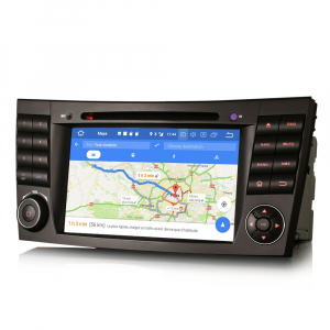 Navigatie auto, Pachet dedicat Mercedes BENZ E/CLS/G Klasse W211 W219, Android 10.0, 7 inch, Octa Core6