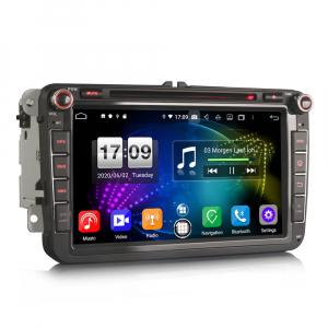 Navigatie auto 2 din, Pachet dedicat VW Seat Skoda, Android 10, 7 inch, Octa Core4