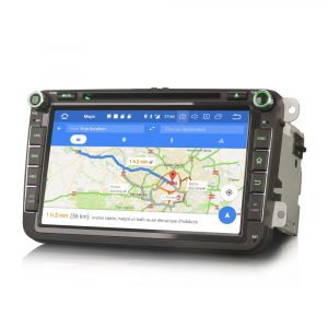 Navigatie auto 2 din, Pachet dedicat VW Seat Skoda, Android 10, 7 inch, Octa Core5