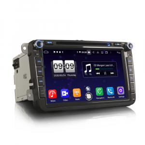 Navigatie auto 2 din, Pachet dedicat VW Seat Skoda, Android 10, 7 inch, Octa Core6