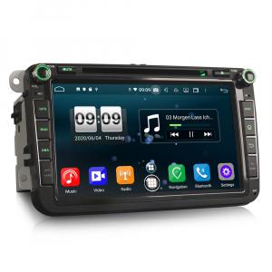 Navigatie auto 2 din, Pachet dedicat VW Seat Skoda, Android 10, 7 inch, Octa Core2