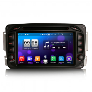 Navigatie auto , Pachet dedicat Mercedes BENZ C/CLK/G Class Vito Viano, Android 10, 7 Inch, Octa Core0