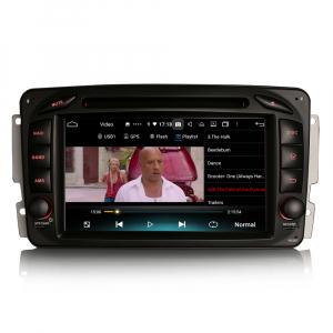 Navigatie auto , Pachet dedicat Mercedes BENZ C/CLK/G Class Vito Viano, Android 10, 7 Inch, Octa Core5