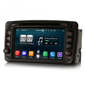 Navigatie auto , Pachet dedicat Mercedes BENZ C/CLK/G Class Vito Viano, Android 10, 7 Inch, Octa Core1