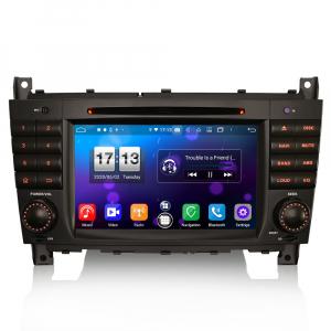 Navigatie auto , Pachet dedicat Mercedes Benz C/CLC/CLK Klasse W203 W209, Android 10, 7 Inch, Octa Core0
