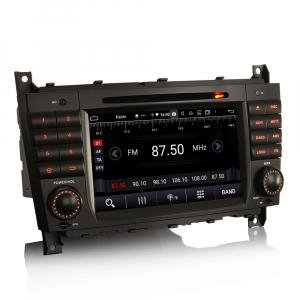 Navigatie auto , Pachet dedicat Mercedes Benz C/CLC/CLK Klasse W203 W209, Android 10, 7 Inch, Octa Core5