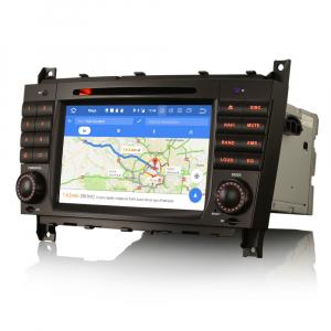 Navigatie auto , Pachet dedicat Mercedes Benz C/CLC/CLK Klasse W203 W209, Android 10, 7 Inch, Octa Core6