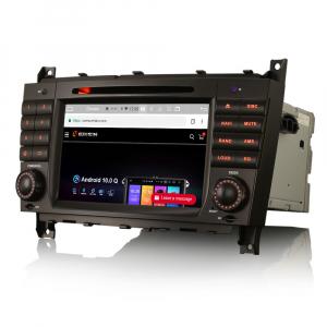 Navigatie auto , Pachet dedicat Mercedes Benz C/CLC/CLK Klasse W203 W209, Android 10, 7 Inch, Octa Core1
