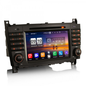 Navigatie auto , Pachet dedicat Mercedes Benz C/CLC/CLK Klasse W203 W209, Android 10, 7 Inch, Octa Core3