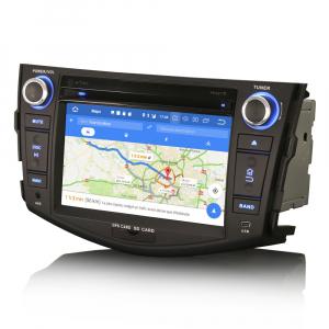 Navigatie auto, Pachet dedicat TOYOTA RAV 4,7 inch, Android 10, Octa Core, 4 Gb Ram4