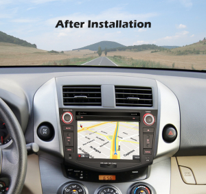 Navigatie auto, Pachet dedicat TOYOTA RAV 4,7 inch, Android 10, Octa Core, 4 Gb Ram6