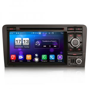 Navigatie auto, Pachet dedicat  AUDI A3 S3 RS3 RNSE-PU,7 inch, Android 10, Octa Core0