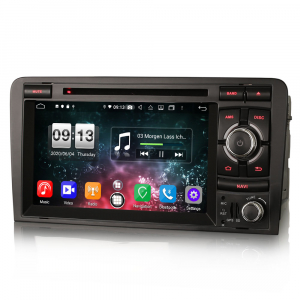 Navigatie auto, Pachet dedicat  AUDI A3 S3 RS3 RNSE-PU,7 inch, Android 10, Octa Core5