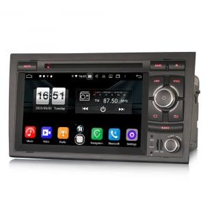 Navigatie auto, Pachet dedicat Audi A4 S4 RS4 Seat Exeo,7 inch, Android 10, Octa Core4