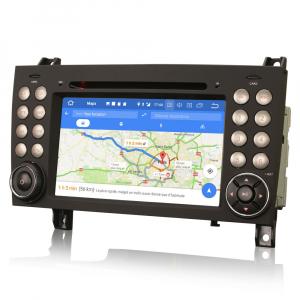 Navigatie auto, Pachet dedicat Mercedes-Benz SLK R171 ,7 inch, Android 10, Octa Core6