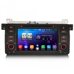 Navigatie auto, Pachet dedicat  BMW E46 318 320 325 M3 Rover75 MG ZT, Android 10.0, 8 Inch, Octa Core0