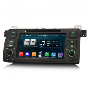 Navigatie auto, Pachet dedicat  BMW E46 318 320 325 M3 Rover75 MG ZT, Android 10.0, 8 Inch, Octa Core1