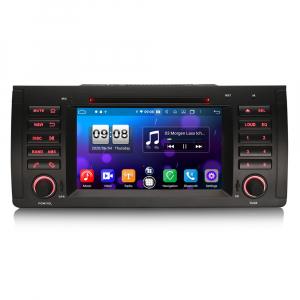 Navigatie auto, Pachet dedicat BMW 5 Series E39 E53 X5 M5, Android 10.0, 7 Inch, Octa Core0