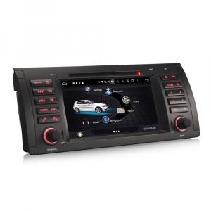 Navigatie auto, Pachet dedicat BMW 5 Series E39 E53 X5 M5, Android 10.0, 7 Inch, Octa Core2