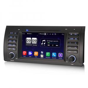 Navigatie auto, Pachet dedicat BMW 5 Series E39 E53 X5 M5, Android 10.0, 7 Inch, Octa Core3