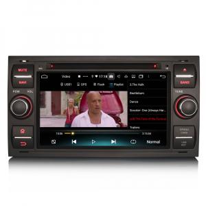 Navigatie auto 2 din, Pachet dedicat Ford C/S-Max Galaxy Kuga Focus Transit, 7 Inch, Android 10.0, Octa Core [7]