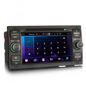 Navigatie auto 2 din, Pachet dedicat Ford C/S-Max Galaxy Kuga Focus Transit, 7 Inch, Android 10.0, Octa Core [2]