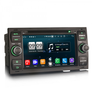 Navigatie auto 2 din, Pachet dedicat Ford C/S-Max Galaxy Kuga Focus Transit, 7 Inch, Android 10.0, Octa Core [3]