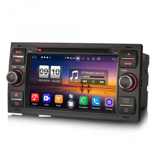 Navigatie auto 2 din, Pachet dedicat Ford C/S-Max Galaxy Kuga Focus Transit, 7 Inch, Android 10.0, Octa Core [4]