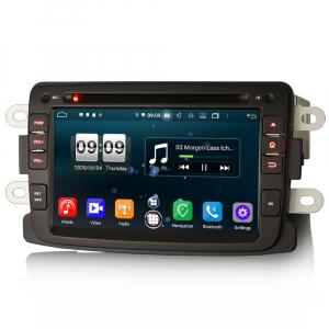 Navigatie auto, Pachet dedicat Duster Logan Dokker Lodgy, Android 10.0, 7 Inch, Octa Core1