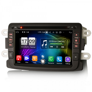Navigatie auto, Pachet dedicat Duster Logan Dokker Lodgy, Android 10.0, 7 Inch, Octa Core2