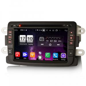 Navigatie auto, Pachet dedicat Duster Logan Dokker Lodgy, Android 10.0, 7 Inch, Octa Core4