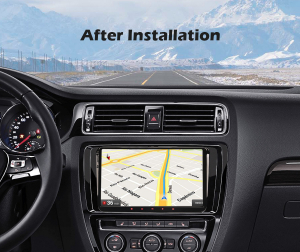 Navigatie auto 2 din, Pachet dedicat VW Golf Passat Tiguan Polo Eos Seat Skoda Stereo, Android 10, 9 inch, Octa Core8
