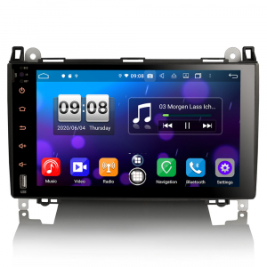 Navigatie auto , Pachet dedicat MERCEDES Benz A Class B200, Android 10; 9 Inch, Octa Core0