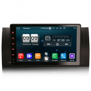 Navigatie auto, Pachet dedicat BMW seria 5, Android 10.0,9 Inch, Octa Core0