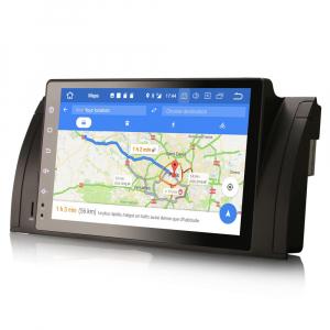 Navigatie auto, Pachet dedicat BMW seria 5, Android 10.0,9 Inch, Octa Core8