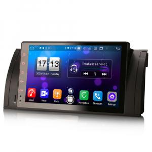 Navigatie auto, Pachet dedicat BMW seria 5, Android 10.0,9 Inch, Octa Core1