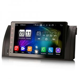 Navigatie auto, Pachet dedicat BMW seria 5, Android 10.0,9 Inch, Octa Core5
